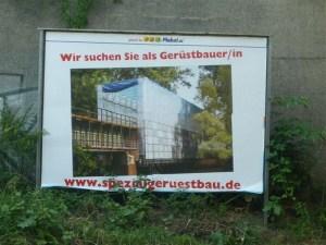 Gerüstbauer-in